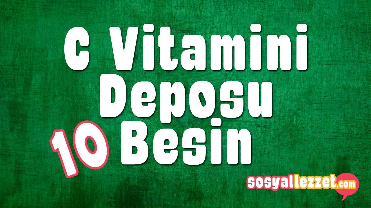 c vitamini deposu 10 besin