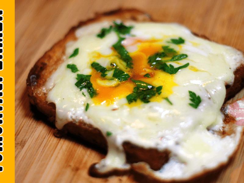 Tavada Yumurtalı Ekmek | Pişirmece