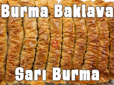 Sarı Burma Tatlısı