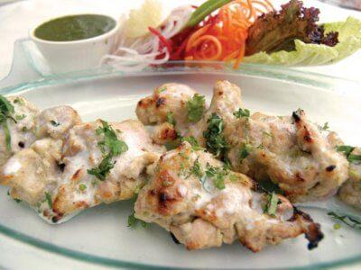 Hindistan Usulü Tavuk Kebabı