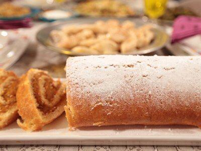 Balkabaklı Rulo Pasta