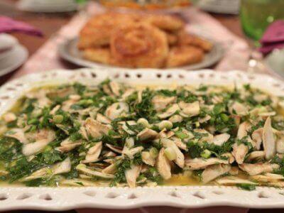 Zeytinyağlı Enginar Salatası Tarifi
