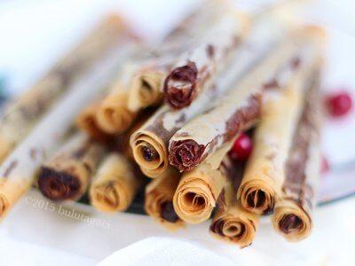 Çikolatalı Tahinli Çubuklar