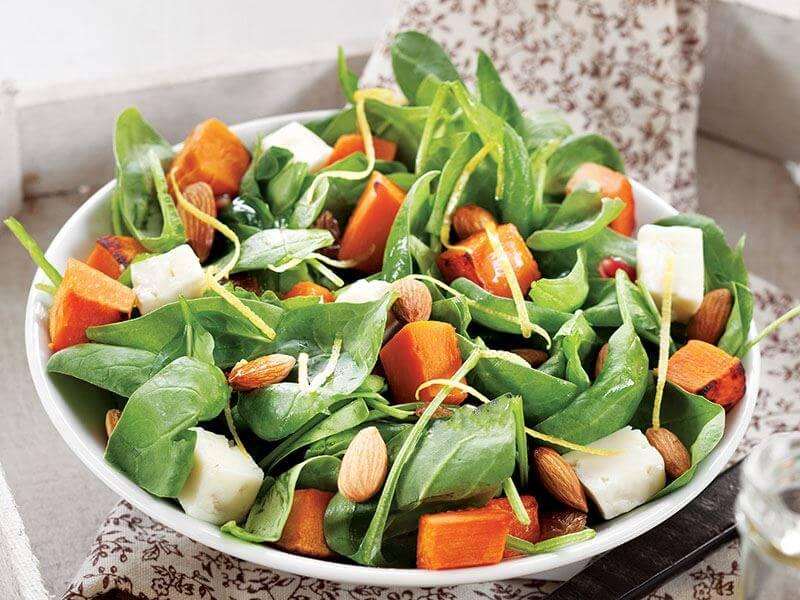 Bal Kabaklı Yeşil Salata Tarifi
